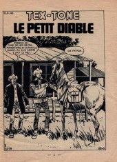 Verso de Tex-Tone -288- Le petit diable