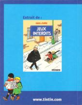 Verso de Quick et Flupke -6- (Casterman, Mini-récits) - Chien dangereux