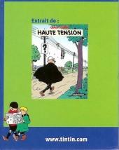 Verso de Quick et Flupke -6- (Casterman, Mini-récits) - Haute tension