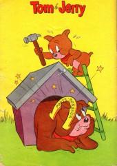 Verso de Tom et Jerry (Puis Tom & Jerry) (2e Série - Sage) -7- Un bouquet indigeste !