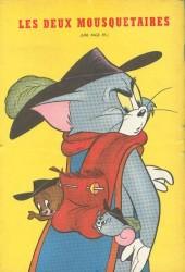 Verso de Tom et Jerry (Puis Tom & Jerry) (2e Série - Sage) -25- Les aventures de Tom