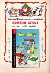 Verso de Tom et Jerry (Puis Tom & Jerry) (2e Série - Sage) -59- Catch as catch can