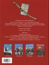 Verso de Jacques Martin présente -7- Napoléon Bonaparte - Tome 4