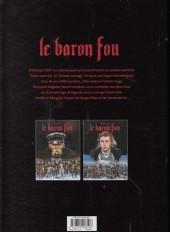 Verso de Le baron Fou -2- Tome 2
