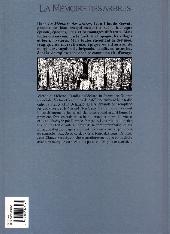 Verso de La mémoire des arbres -4- Les seins de café 2