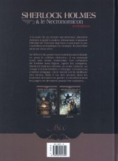 Verso de Sherlock Holmes & le Necronomicon -INT- Intégrale
