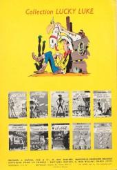 Verso de Lucky Luke -16- En remontant le Mississipi