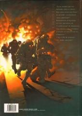 Verso de Cross Fire -1a- Opération Judas