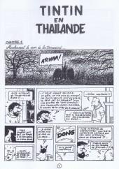 Verso de Tintin - Pastiches, parodies & pirates -1b- Tintin en Thaïlande