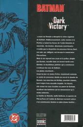 Verso de Batman : Dark Victory -1- Dark Victory 1