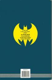 Verso de Batman - Dark Knight -1- Le Retour et le Triomphe