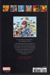 Verso de Marvel Comics - La collection (Hachette) -338- Les Guerres Secrètes - Deuxième partie