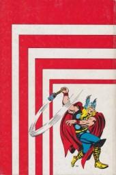 Verso de Thor (3e Série - Lug/Semic) -Rec04- Album N°4 (du n°10 au n°12)