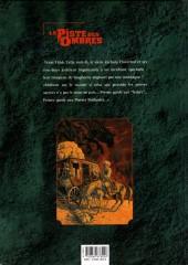 Verso de La piste des Ombres -1- Pierres brûlantes