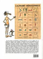 Verso de Alcibiade Didascaux (L'extraordinaire aventure d') -1- Alcibiade Didascaux en Égypte I - Les Dieux, le Nil, le Pharaon, les Pyramides
