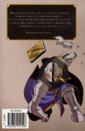 Verso de Deus Ex Machina -3- Tome 3