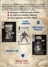 Verso de Kid Colt (Ediciones Vértice - 1971) -9- Dos Revólveres mágicos