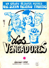 Verso de Kid Colt (Ediciones Vértice - 1971) -3- Momento desesperado