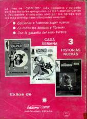 Verso de Kid Colt (Ediciones Vértice - 1971) -4- Juego sucio
