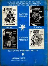 Verso de Kid Colt (Ediciones Vértice - 1971) -5- !Sheriff y periodista!