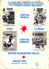 Verso de Kid Colt (Ediciones Vértice - 1971) -6- !El matón!