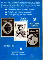 Verso de Kid Colt (Ediciones Vértice - 1971) -7- ¡Saca... comisario!