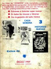 Verso de Kid Colt (Ediciones Vértice - 1971) -8- Los saqueadores