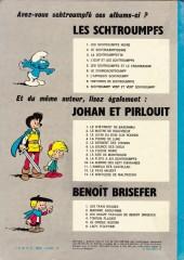 Verso de Johan et Pirlouit -10b75- La guerre des sept fontaines