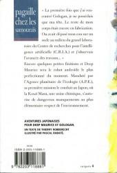 Verso de (AUT) Rabaté - Pagaille chez les samouraïs