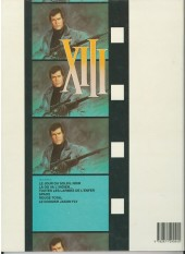 Verso de XIII -5a1990/02- Rouge total