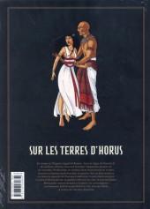 Verso de Sur les terres d'Horus -INT2- L'intégrale - Tomes 5 à 8