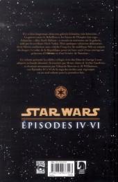 Verso de Star Wars -INT2- Intégrale - Épisodes IV à VI