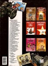 Verso de Spirou et Fantasio -38a1992- La Jeunesse de Spirou
