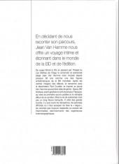 Verso de (AUT) Van Hamme - Mémoires d'écriture
