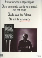 Verso de La survivante -1a1991- La Survivante
