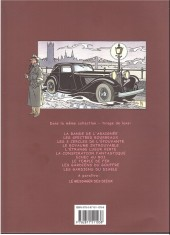 Verso de Harry Dickson (Vanderhaeghe/Zanon) -10TT- Les gardiens du diable