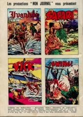 Verso de Akim (1re série) -290- Les tigres blancs