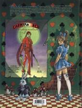 Verso de Little Alice in Wonderland -3- Living Dead Night Fever