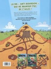 Verso de Les insectes en bande dessinée -3- Tome 3