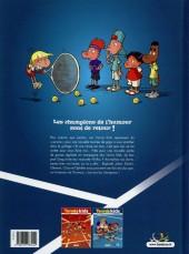 Verso de Tennis Kids -2- Coup de filet