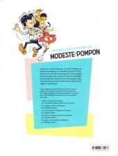 Verso de Modeste et Pompon (Franquin) -INT- L'Intégrale des aventures de Modeste et Pompon