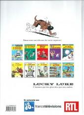 Verso de Lucky Luke -44Été- La Guérison des Dalton