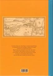 Verso de Yoko Tsuno -27TL- Le secret de Khâny - Esquisse d'une œuvre