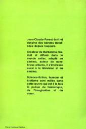 Verso de Barbarella - Tome 1Poc