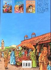 Verso de Mauvaise graine -3- Les portes de Marrakech