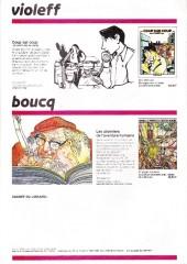 Verso de (Catalogues) Éditeurs, agences, festivals, fabricants de para-BD... - Casterman - 1985 - Catalogue