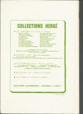Verso de (Recueil) Tintin (Album du journal - Édition belge) -189- Recueil Tintin Album du journal