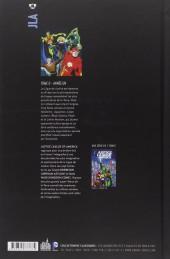 Verso de Justice League of America (DC Classiques) -0- Année un