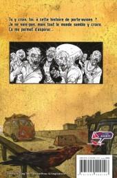 Verso de Zombie walk -2- L'espoir
