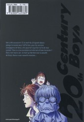 Verso de 20th Century Boys - Deluxe -7- Tome 7